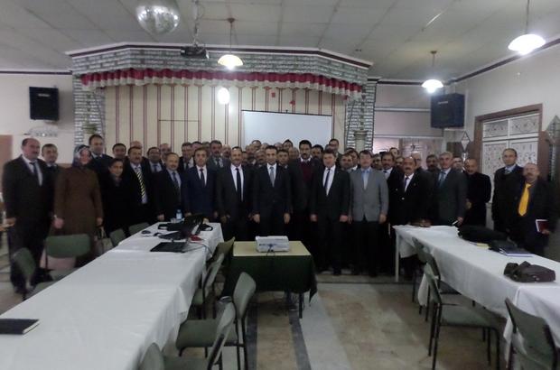 """BOLVADİN'DE """"BEKAP"""" TANITIM TOPLANTISI YAPILDI"""