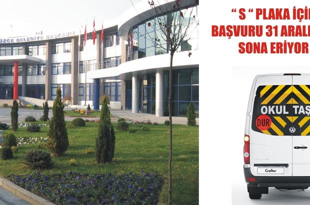 """""""S"""" PLAKADA SON TARİH 31 ARALIK"""
