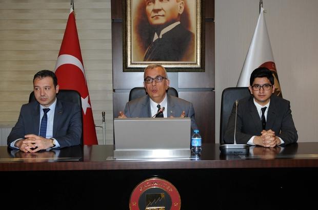 ''ENDÜSTRİYEL SİMBİYOZ PROJESİ'' BİLGİLENDİRME TOPLANTISI YAPILDI
