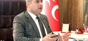 """MHP YOZGAT İL BAŞKANI ETHEM SEDEF, """"HAİNLER EMELLERİNE ULAŞAMAYACAK"""""""