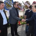 GÖNEN'DE 'UĞUR'LU TEMEL ATMA TÖRENİ