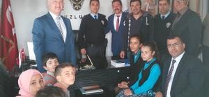 TUZLUKÇU'DA POLİS HAFTASI KUTLAMASI