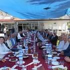 ESKİ İL GENEL MECLİSİ ÜYELERİ TAVAS'TA BULUŞTU