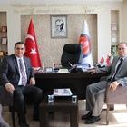 MHP ESKİŞEHİR İL BAŞKANI SEVER'DEN, BAŞKAN GÜNDOĞAN'A ZİYARET