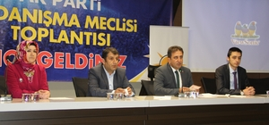 AK PARTİ DANIŞMA MECLİSİ TOPLANDI