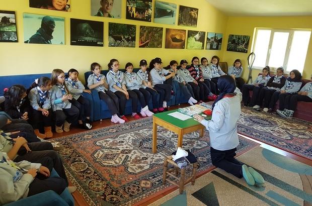 İZCİLER DOĞAL AFET EĞİTİM KAMPI DÜZENLEDİ