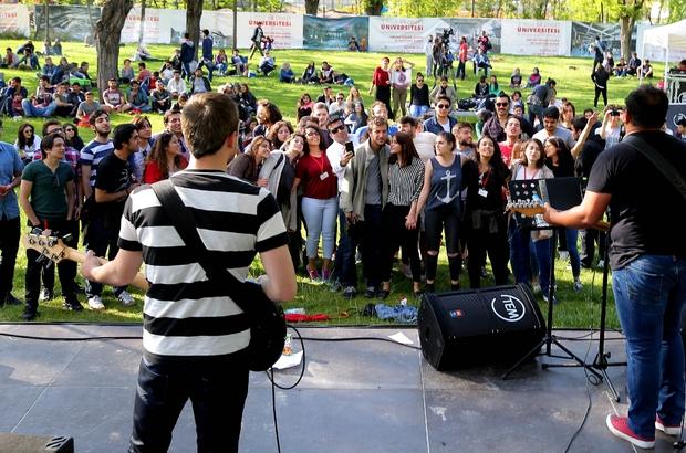 ÜNİVERSİTE ÖĞRENCİLERİ AGÜ KULÜP FESTİVALİ'NDE BULUŞTU