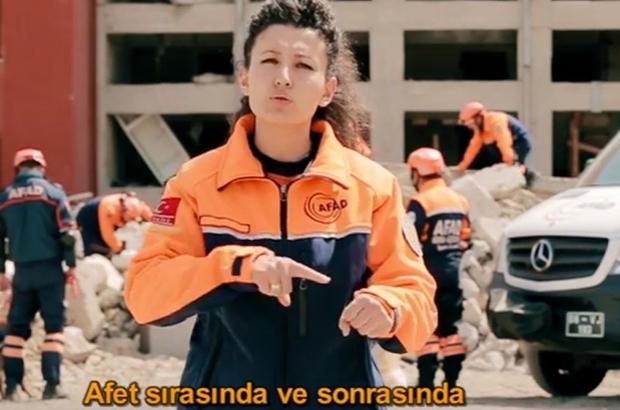 ENGELLİLER HAFTASI'NDA AFAD'DAN FARKINDALIK VİDEOLARI
