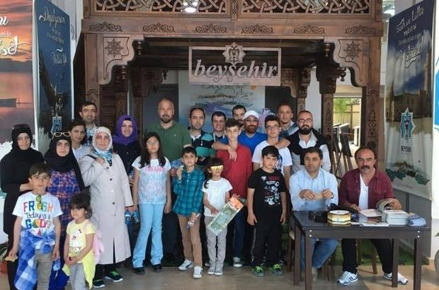 TURİZMCİ ÖĞRENCİLER EXPO'DA BEYŞEHİR BELEDİYESİ STANDINDA