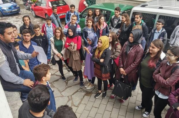 BOZÜYÜK'TEN 40 ÖĞRENCİ BURSA'YI ZİYARET ETTİ