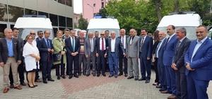 ALTINOVA BELEDİYESİ AMBULANS ALDI