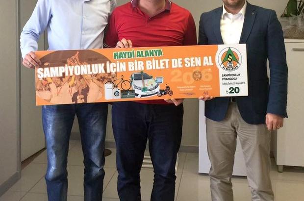 CLK AKDENİZ'DEN ALANYASPOR'A BİR DESTEK DAHA
