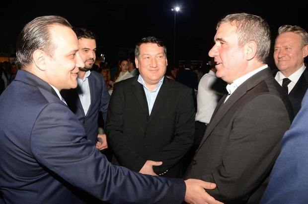GHEORGHE HAGİ, KULÜP BAŞKANI AV. DEMİRHAN'I TEBRİK ETTİ