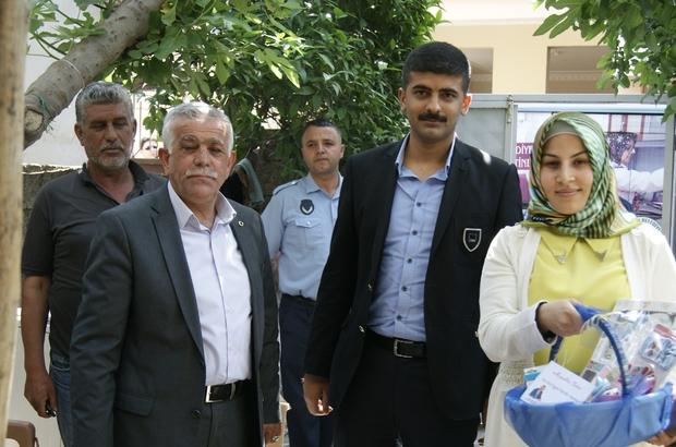 """REYHANLI'DA """"HOŞ GELDİN BEBEK"""" PROJESİ ZİYARETLERİ BAŞLADI"""