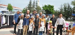 BOZAN ÖĞRENCİ YURDU İÇİN ALPU'DA KERMES