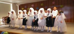 Doğankent'te Kur'an Kursu öğrencilerinden yıl sonu etkinliği