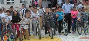 Saraykent'te sağlık için pedal çevirdiler