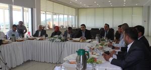 AK Parti Sinop Milletvekili Maviş, gazetecilerle buluştu