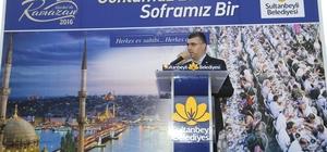 SULTANBEYLİ'DE KARDEŞLİK SOFRALARI MİMAR SİNAN'A KURULDU