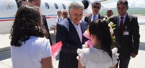 Ulaştırma, Denizcilik ve Haberleşme Bakanı Arslan Kars ve Ardahan'da