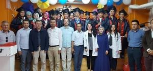 Güce İmam Hatip Ortaokulu ilk mezunlarını verdi