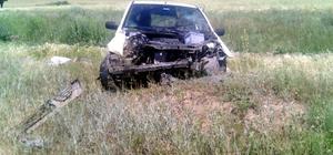 Kırıkkale trafik kazası: 1 yaralı