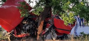 Aksaray'da ehliyetsiz sürücü kaza yaptı: 1 ölü, 3 yaralı
