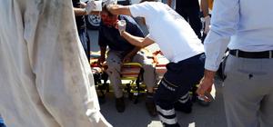 Kahramanmaraş'taki trafik kazaları: 7 yaralı