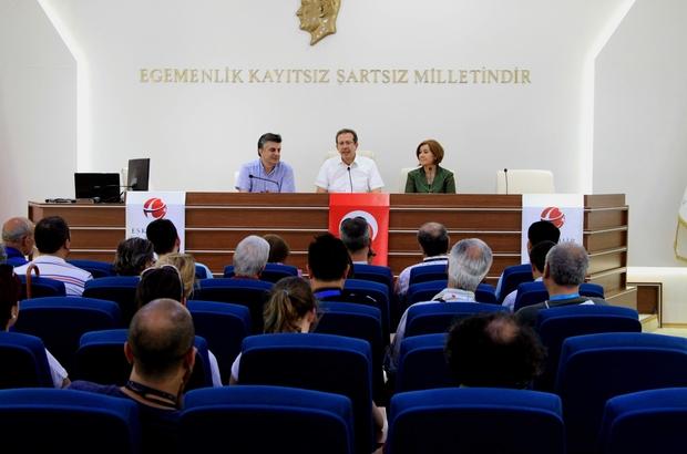 TUREB'TEN VALİ YARDIMCISI GÜNAY'A ZİYARET