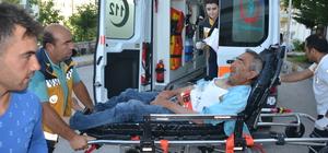Aksaray'da arıların saldırdığı kişi hastaneye kaldırıldı