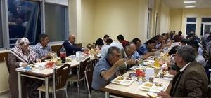 BAŞKAN SAMUR'DAN BELEDİYE PERSONELİNE İFTAR YEMEĞİ