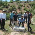 Giresun'da doğaya keklik salındı