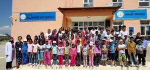 Yalıhüyük'te KOMEK yaz okulu açıldı