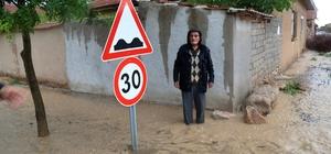 Karaman'da sağanak ve dolu