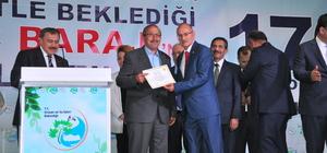 Orman ve Su İşleri Bakanı Eroğlu, Kastamonu'da