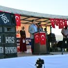 DİYADİN'DE OKUL TEMEL ATMA TÖRENİ