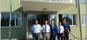 ihat Özdemir, İl Özel İdare Genel Sekreteri Mustafa Bolat'ı ziyaret etti
