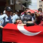Polis memuru Boz, son yolculuğuna uğurlandı