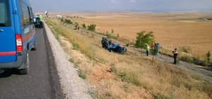 Konya'da trafik kazası: 1 ölü, 4 yaralı