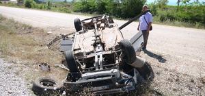 Beyşehir'de trafik kazaları:  2 yaralı