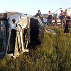 Karabük'te ticari araç devrildi: 2 ölü, 6 yaralı