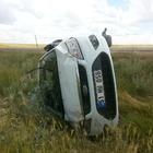 Kangal'da trafik kazası: 3 yaralı