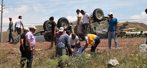 Çankırı'da cip devrildi: 3 yaralı