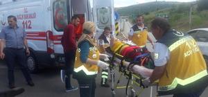 Bolu'da otomobiller çarpıştı: 3 yaralı