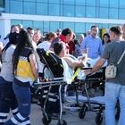 Giresun'da polis aracına saldırı ve sonrasındaki patlama