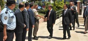 Vali Tapsız Ayrancı ilçesini ziyaret etti