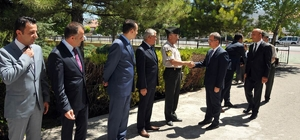 Vali Tapsız Kazımkarabekir ilçesini ziyaret etti