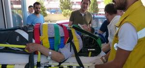 Gölpazarı'nda diyaliz hastalarını taşıyan araç devrildi