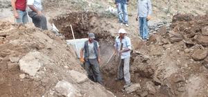 Hamur Belediyesi'nde alt yapı çalışmaları