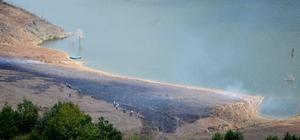 Bolu'da anız yangını